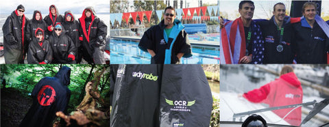 USA dryrobe - the best change robe in the World