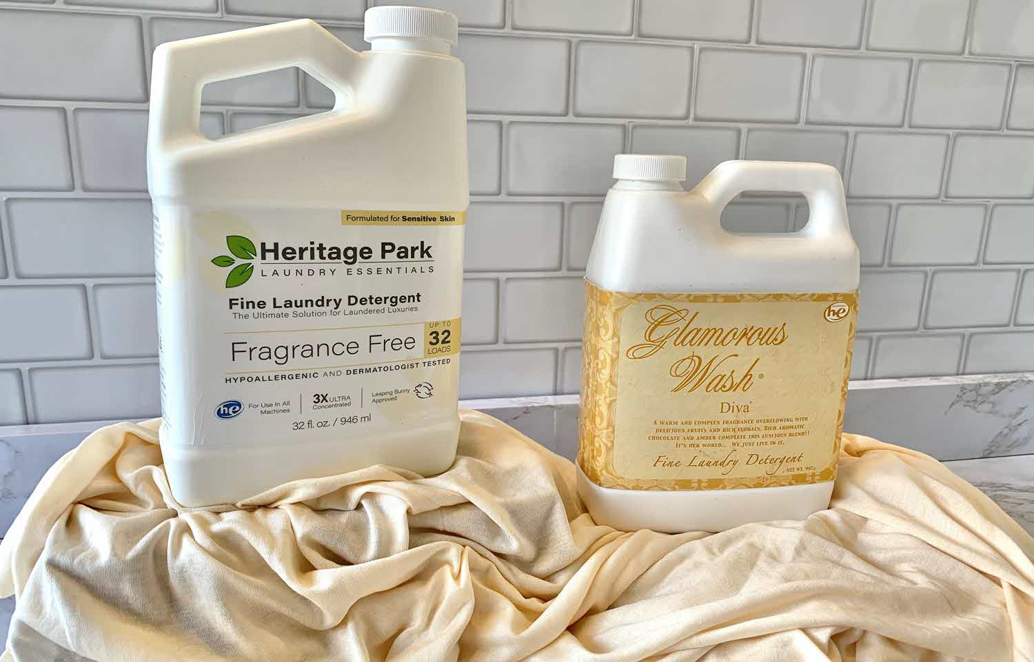 Comparing Luxury Laundry Detergents: Heritage Park vs. Tyler Glamorous Wash Diva