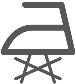 No Steam When Ironing Laundry Symbol