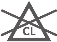 Non Chlorine Bleach (only) Laundry Symbol