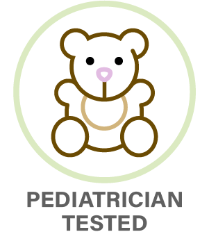Pediatrician Tested Icon