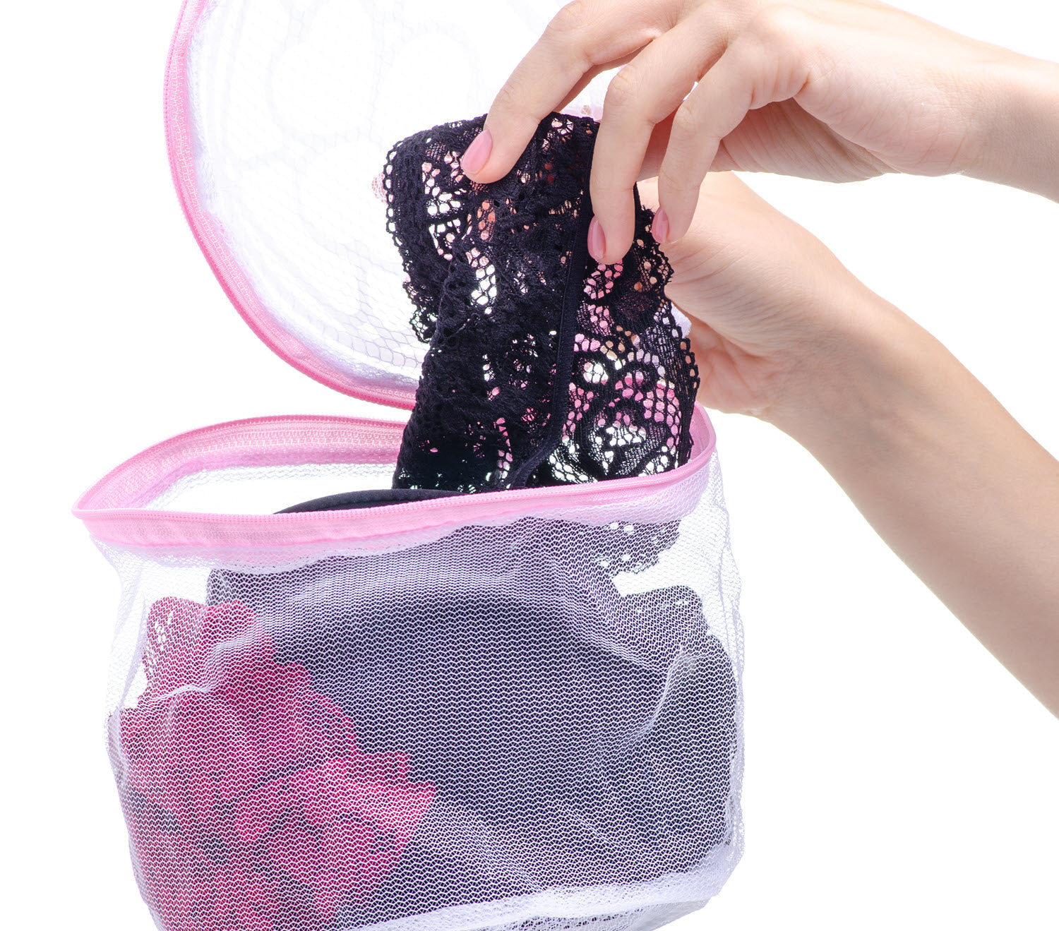 Use a mesh wash bag to protect your delicate clothing