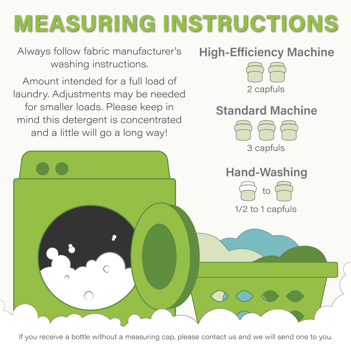 Follow These Washing Instructions for the Perfect Wash Every Time
