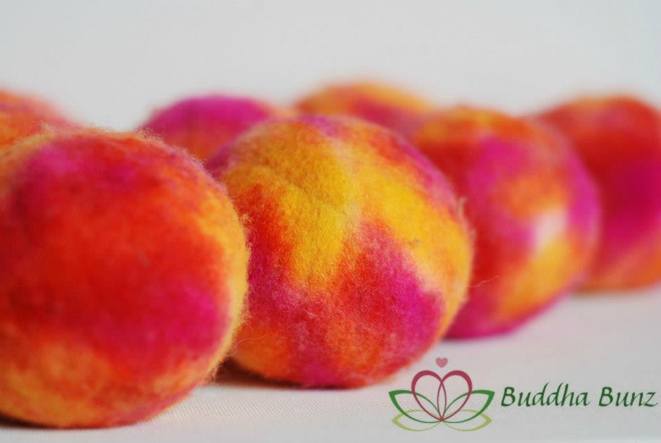 Tie Dye Wool Dryer Ball
