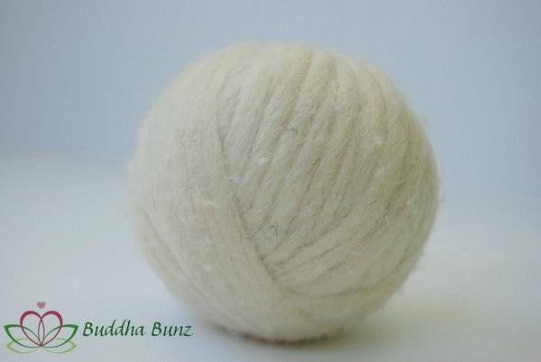 Undyed Wool Dryer Ball
