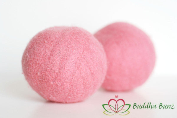 Solid Colored Wool Dryer Ball