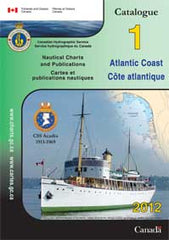 Canadian Chart Catalog Atlantic Coast