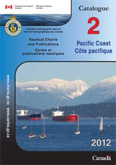 Canadian Chart Catalog Pacific Coast