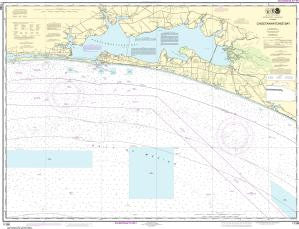 US NOAA Chart 11388 Choctawhatchee Bay