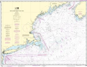 US NOAA Chart 13006 West Quoddy Head to New York