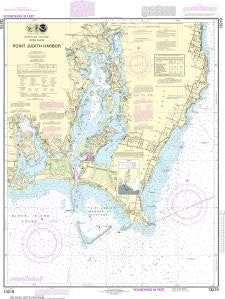 US NOAA Chart 13219 Point Judith Harbor