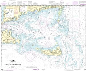 US NOAA Chart 13237 Nantucket Sound and Approaches