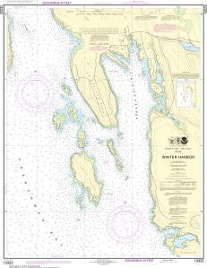 US NOAA Chart 13322 Winter Harbor