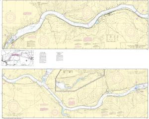 US NOAA Chart 18546 Snake River-Lake Herbert G. West
