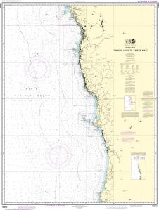 US NOAA Chart 18600 Trinidad Head to Cape Blanco