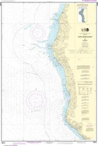 US NOAA Chart 18623 Cape Mendocino and vicinity