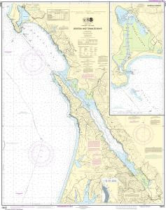 US NOAA Chart 18643 Bodega and Tomales Bays;Bodega Harbor