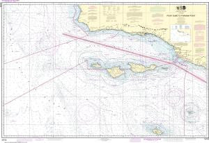 US NOAA Chart 18720 Point Dume to Purisma Point