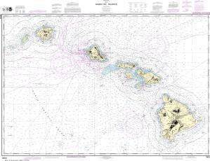 US NOAA Chart 19004 Hawai'ian Islands