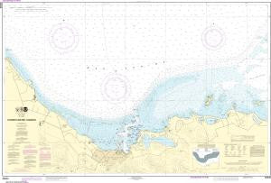US NOAA Chart 25645 Christiansted Harbor