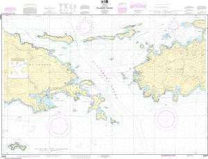 US NOAA Chart 25647 Pillsbury Sound
