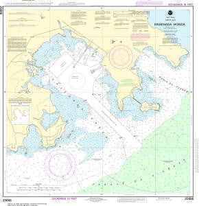 US NOAA Chart 25666 Ensenada Honda