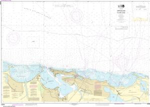 US NOAA Chart 25669 Approaches to San Juan Harbor