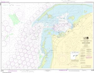 US NOAA Chart 81076 Commonwealth of the Northern Mariana Islands Saipan Harbor