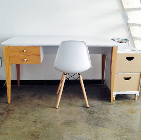 Standard Brak Desk (Two Drawers)