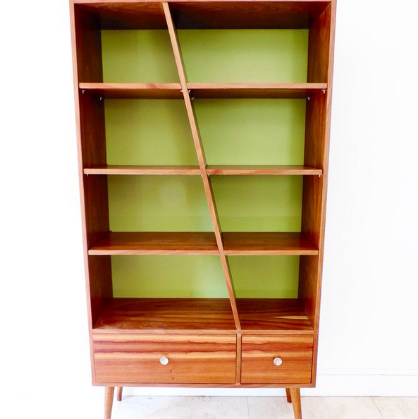 Diagonal Bookshelf