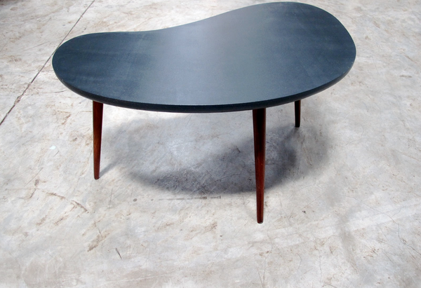 Charcoal kidney Table