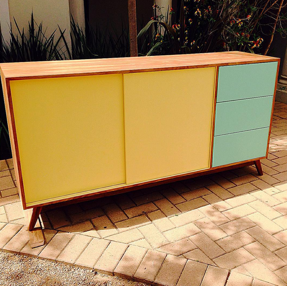 Kids storage sideboard