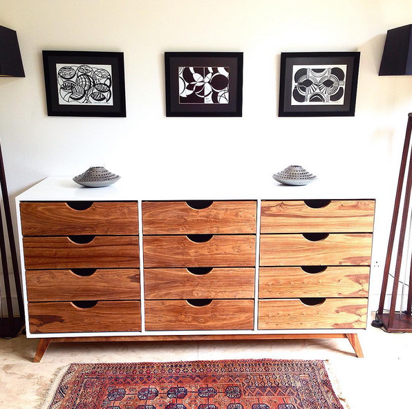 Triple Drawer Chest