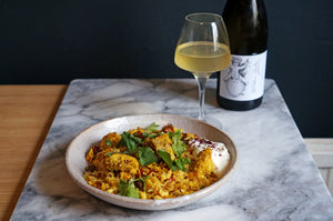 Wine & Food Killers: Persian Fried Rice and Weingut Brand  Wilder Satz 2019