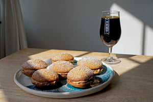 The Beer Lover's Table: Coffee Kisses And Põhjala Cocobänger Imperial Stout With Coffee And Coconut