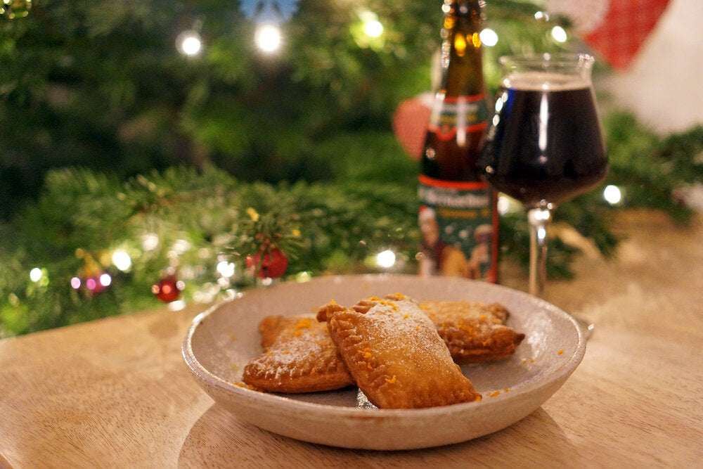 The Beer Lover's Table: Deep-Fried Mince Pies And St Bernardus Christmas Ale