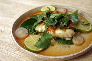 Wine & Food Killers: Thai-Style Steamed Cod and Weingut Brand Riesling vom Berg 2017