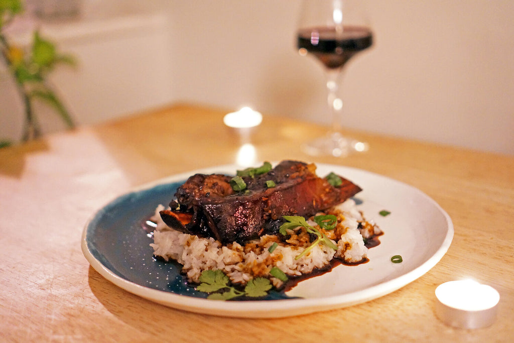Wine & Food Killers: Pressure Cooker Short Ribs and Finca Decero The Owl and The Dust Devil