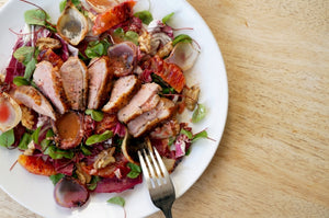 The Beer Lover's Table: Duck, Blood Orange & Radicchio Salad and 8 Wired Saison Sauvin