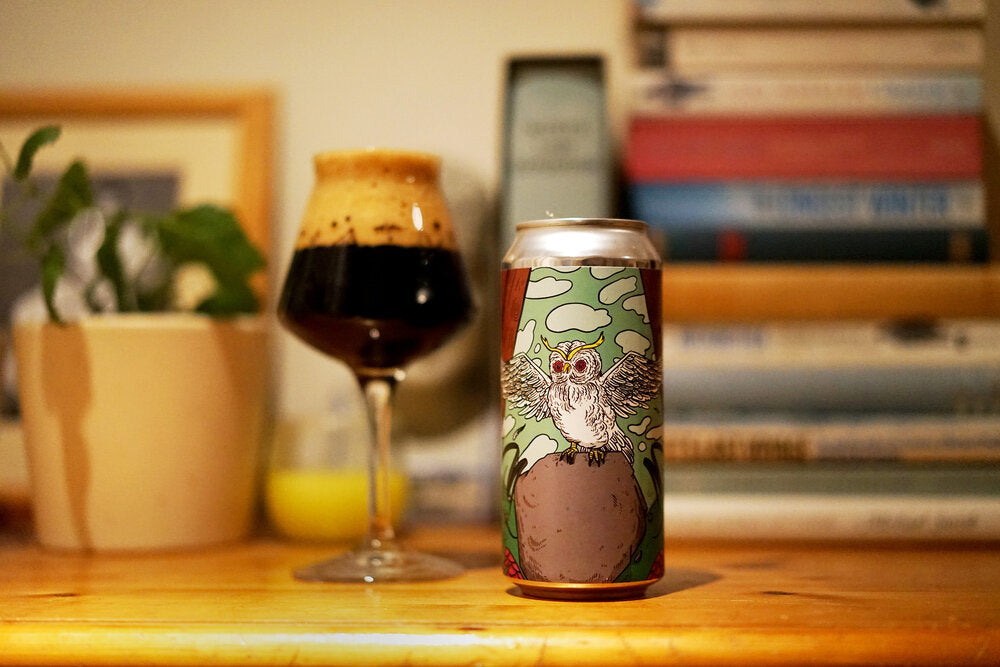 Fundamentals #60 - Left Handed Giant X Ulitje Woodland Creatures Milk Stout