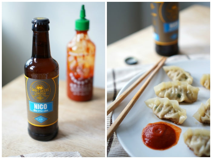 The Beer Lover's Table: Orbit Nico Köln-Style Lager and Spiced Chinese Dumplings