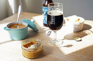 The Beer Lover's Table: Caramelised White Chocolate Mousse and Partizan's Imperial White Russian Stout