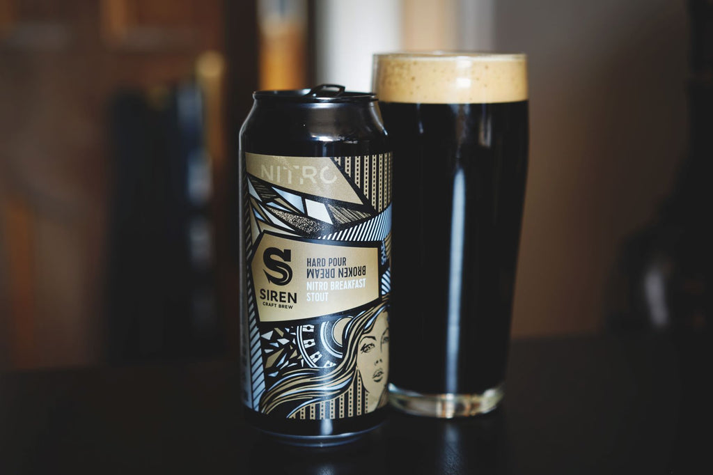 Fundamentals #80 — Siren Hard Pour Broken Dream Nitro Breakfast Stout