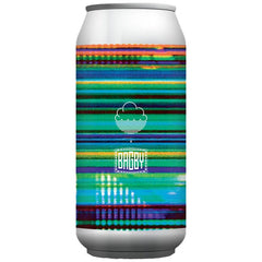 Cloudwater x Bagby System Failure Imperial IPA 9% (440ml can)-Hop Burns & Black