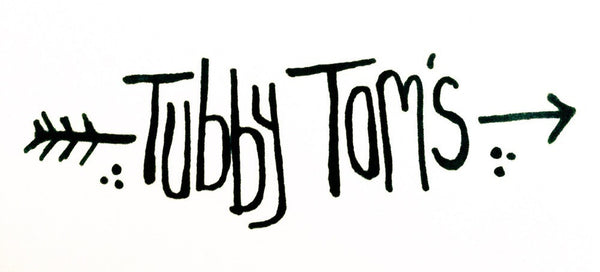 Tubby Tom's Ghost Town Hot Sauce (150g)-Hop Burns & Black