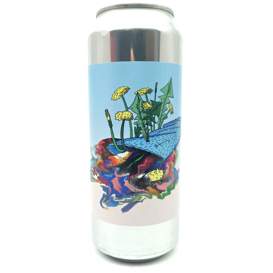Lervig x Other Half Nothing Is For Sure Double IPA 10% (500ml can)-Hop Burns & Black
