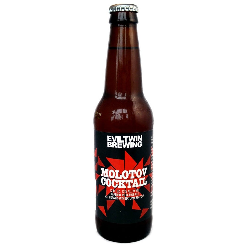 Evil Twin Molotov Cocktail Imperial IPA 13% (355ml)-Hop Burns & Black