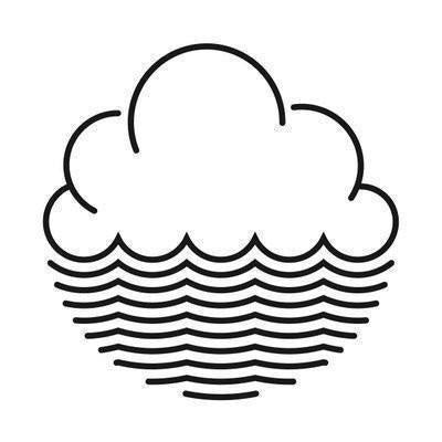 Cloudwater A Wave In The Marlborough Sounds DDH Pale Ale 5.5% (440ml can)-Hop Burns & Black