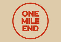 One Mile End Juicy 4pm New England Pale Ale 4.9% (440ml can)-Hop Burns & Black
