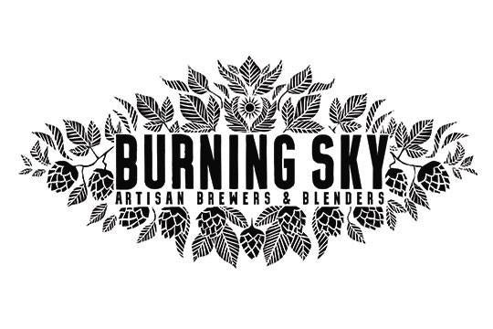 Burning Sky Saison Anniversaire 2020 6.5% (750ml)-Hop Burns & Black